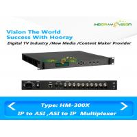 Wholesale Multiple Function Digital TV Multiplexer 188 Byte TS Packet With ASI IP TO IP ASI Support from china suppliers
