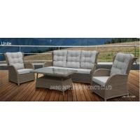 Wholesale Wicker Conversation Patio Seating Sets / Patio Furniture Table And Chairs Weatherproof from china suppliers