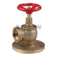 "Wholesale Fire Hydrant Valve with Flange PN 16 Male 1.5"" Right Angle with Female Thread - Brass from china suppliers"
