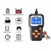 China 12V 6V Automotive Diagnostic Tools Lead Acid Battery Tester For Tagliaerba Motorcycles Lawn Mower on sale