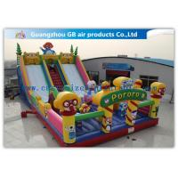 Wholesale Waterproof Pororo Inflatable Double Slip And Slide Inflatable Fairyland Park For Playing from china suppliers