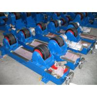 Wholesale General Automatic 5T Welding Tank Turning Rolls , Manual Lead Screw Adjust Wheels Distance from china suppliers