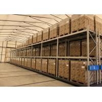 China Flexible Aisle Saving Mobile Racking Storage Systems Q235 Steel Material on sale