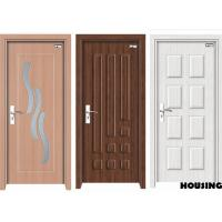Wholesale Corrosion-proof Wood PVC Doors 2000 * 800 * 40 mm For Houses from china suppliers