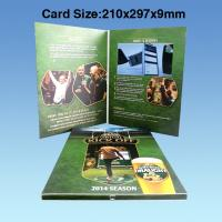 Wholesale Wedding Custom Video Greeting Cards , 7 Inch 16.7M Promotional Video Card from china suppliers