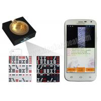 Wholesale White Poker Analyzer Phone Casino Magic Dice Invisible Gambling Accessories from china suppliers