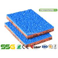 Wholesale Customized Surface PU Mixed EPDM Granules Athletics Running Track Playground Court from china suppliers