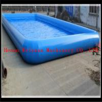 Wholesale 15*20m PVC0.9mm big water park equipment inflatable swimming pool bubble inflatable pool from china suppliers