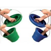 Wholesale Large 10L Folding Silicone Water Bucket For Household , Eco - Friendly from china suppliers