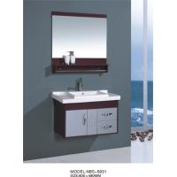Wholesale hung  cabinet / PVC bathroom vanity / wall cabinet / red color for house 80 X49/cm from china suppliers