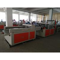 Wholesale Heat Sealing Plastic Shopping Bag Making Machine Double Lines from china suppliers