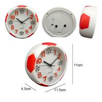 Quality Mini Round Football Shape Alarm Clock for sale