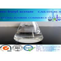 Wholesale CAS 105-46-4 Sec Butyl Acetate Colorless Liquid With Fruit Fragrance Relative 99% from china suppliers