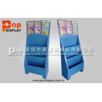 Wholesale Greeting Cards Advertisement Corrugated Book Display Floor Durable Light Duty from china suppliers