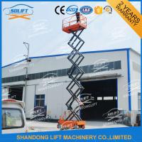 Wholesale Hydraulic Mobile Self Propelled Elevating Work Platforms With 90 Degree Turnable Wheels from china suppliers