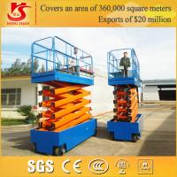 Wholesale 4 wheels battery power mobile work platform with Factory price from china suppliers
