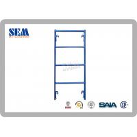 Quality Q235 Steel Shoring Frames Scaffolding With Powder Coated And CE for sale