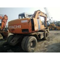 Wholesale used hitachi excavator   EX100WD-2 EX100WD-1 Used and New Wheeled excavators For Sale from china suppliers