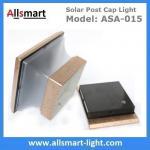 Wholesale Premium Outdoor Solar Powered Post Cap Light Pillar Lighting Fixture 1-Light 145x145x130mm/5.72x5.72x5.13inch from china suppliers