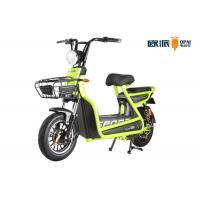 Wholesale Shock Absorber Girls Electric Moped Bike , Electric Mopeds And Scooters 6 Tubes from china suppliers