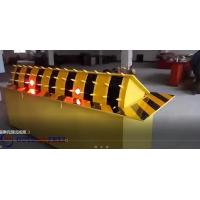 Quality Red Led traffic light automaticaly hydraulic road stopper with rising vehicle blocker for sale