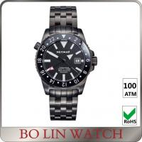 Wholesale Milanese SS Mesh Strap Stainless Steel Dive Watch Automatic 3 Hands BGW9 Super Luminous from china suppliers