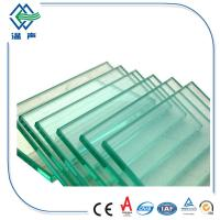 Buy cheap 4mm 6mm 12mm tempered and laminated glass , Clear tempered glass flooring from wholesalers