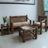Buy cheap Carbonized Bamboo Sofa and Chair 4 Types in One Set from wholesalers