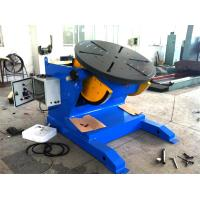 Buy cheap 4500lbs Capacity Tilting Rotary Pipe Welding Positioners with Motor Driven Speed Regulation from wholesalers