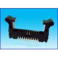 Wholesale 2.54mm pitch RA type samtec connector,ejector header from china suppliers