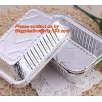 Wholesale airline disposable aluminium, aluminum foil container for food packaging, kitchenware, tableware, disposable, takeaway from china suppliers
