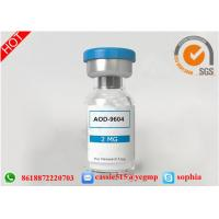 Wholesale Raw Peptides Powder AOD-9604 For Anti Obesity Drug CAS 221231-10-3 from china suppliers