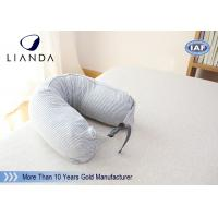 Quality U Shaped Therapeutica Sleeping Pillow / Soft Memory Foam Neck Pillow OEM Service for sale