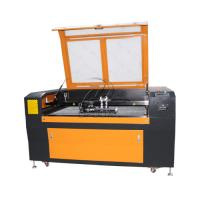 Wholesale Low Cost 1300*90mm Steel Wood Acrylic Co2 Laser Cutting Machine with Double Heads from china suppliers