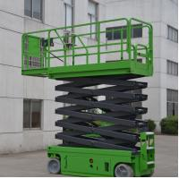 Wholesale 11.8 Meters Platform Height 230Kg Loading Capacity Self-Propelled Scissor Lift with 2 People Occupation from china suppliers