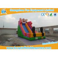 Wholesale Cartoon Commercial Inflatable Slide For Event / Screamer Inflatable Bounce Slide from china suppliers