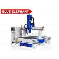 Wholesale Blue Elephant 4 Axis CNC Router Machine Auto Tool Changer Wood Engraving and Carving Machine from china suppliers