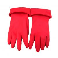 Buy cheap Red Durable Prolonged Warm Waterproof Gloves For Winter Cleaning from wholesalers