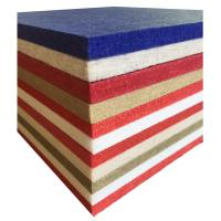 Buy cheap Fireproof Material Low Melt Staple Fiber Diffuser Hotel Polyester Acoustic Panel from wholesalers
