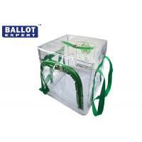 Wholesale Waterproof Collapsible Ballot Box Clear Disassemble 45 x 45 x 45 from china suppliers