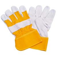 Wholesale Heat proof anti cut Safety leahter Industrial protective work gloves for Household work from china suppliers