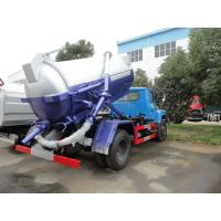 Wholesale dongfeng140 long head sewage suction truck from china suppliers