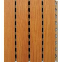 Buy cheap Grooved acoustic panel from wholesalers