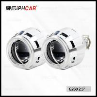 Wholesale 2.5 Inch Vision Auto Retrofit Headlight Hid Projector Lens CCFL Angel Eyes with Super Mini h1 Lens from china suppliers