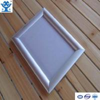 Wholesale High quality silver anodized matt aluminium led poster frame from china suppliers