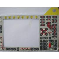 Wholesale Custom Made Silicone Rubber Keypad Membrane Switch Overlay With 3M Adhesive from china suppliers