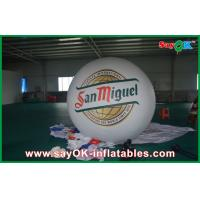 Wholesale Advertising White 2M Inflatable Balloon Helium Blimp Balloon 0.18mm PVC from china suppliers