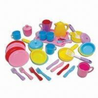 Wholesale 39pcs Deluxe Kitchen Set, Suitable for Children, with Vivid Colors to Attract Children's Attention from china suppliers