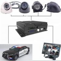Wholesale Four - In - One Dual SD Card Mobile Vehicle DVR With 3G / 4G GPS WIFI , 1080P Resolution from china suppliers