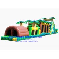 Wholesale Tropical Jungle Inflatable Obstacle Course from china suppliers